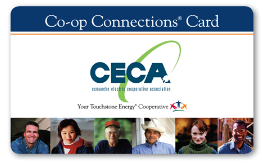 CECA Co-op Connections Card image